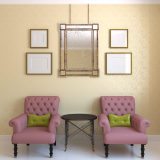 Window Treatments & Picture/Mirror Hanging